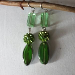 Crystal Discoball Earrings